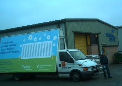 Advertising Vehicle Scottish & Southern Energy