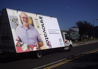Mobile Billboard Business Link North Yorkshire