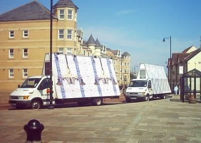 Poster Trucks North Tyneside Art in the Community