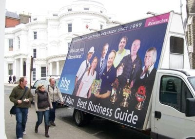 Advertising Van Best Business Guide Isle of Man