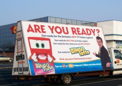 Poster Van Bingo Lotto Scarborough