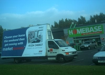 Bryant Homes Ad Van Bedford