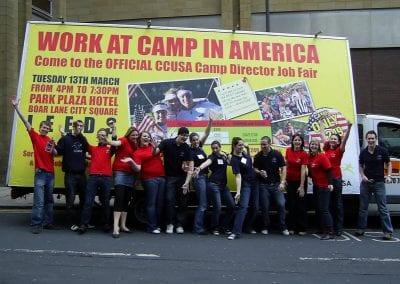 Poster Van Student Campaign Leeds
