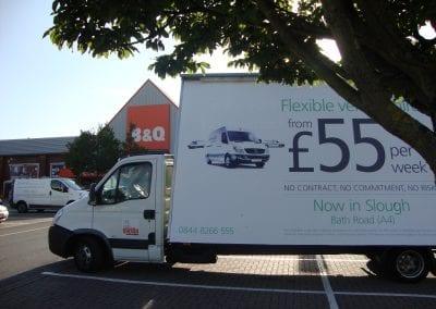 Ad Van Northgate Truck Hire Slough