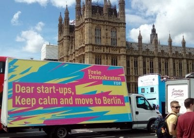Mobile Billboard Move to Berlin London