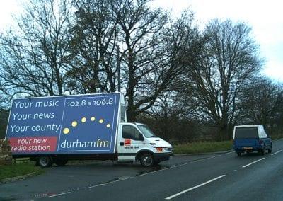 Poster Truck Durham FM