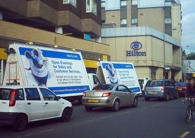 Advertising Vans Esure Glasgow