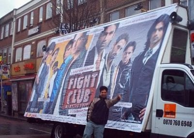 Ad Van Fight Club Bradford