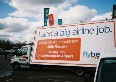 Ad Van Flybe Southampton