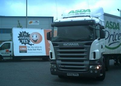 AdVertising Van GMB Wolverhampton