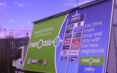 Mobile Billboards Christmas Retail Campaigns