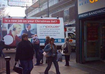 Mobile Billboard NPOWER Sunderland