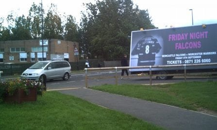 Ad Van Newcastle Falcons Rugby