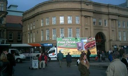 Ad Van Subway Ipswich
