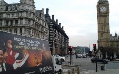 European Ad Van Campaign Comes to London
