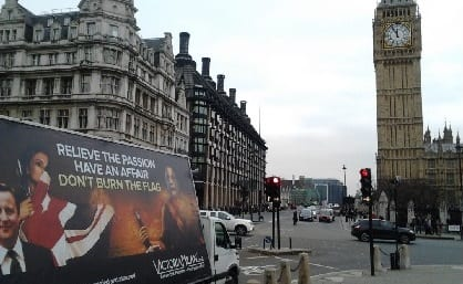 European Ad Van Campaign Comes to London