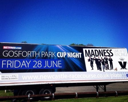 Ad trailer promoting Madness concert