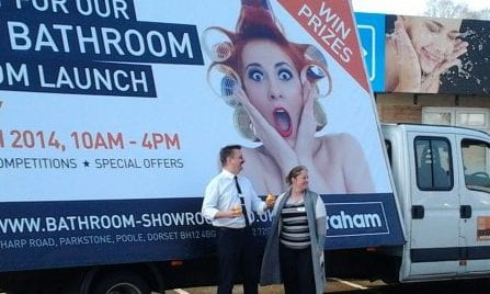 AdVan Graham Store Launch in Poole Dorset