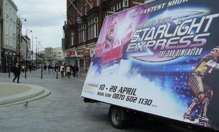 AdVan Starlight Express UK National Tour