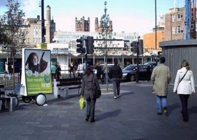 Advertising Bike Doncaster
