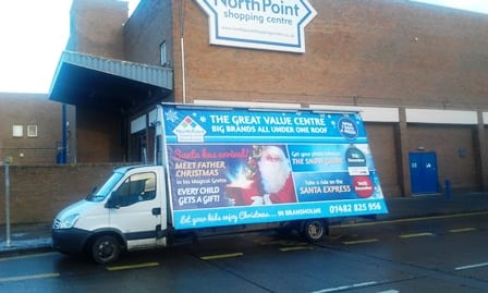 Gorilla AdVan Promote Northpoint Kingston upon Hull