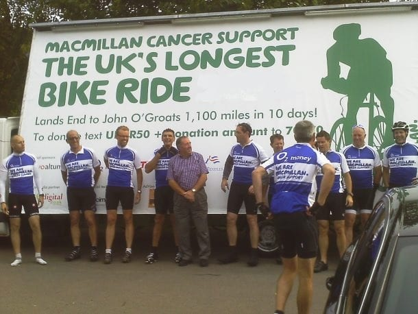 AdVan Macmillan Cancer Charity