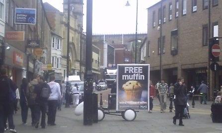 Promo Bike Moji Coffee Shops Durham